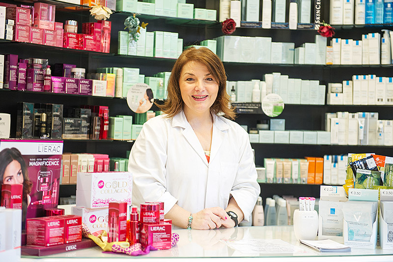 Farmacia Fanchiotti Novara prodotti cura pelle e capelli, dermocosmesi, cosmetici