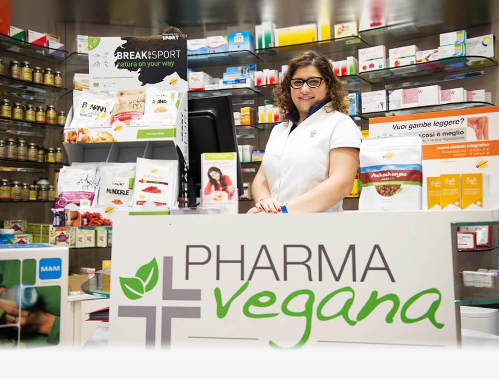 Farmacia Fanchiotti Novara alimentazione vegana, vegetariana, senza glutine, dieta