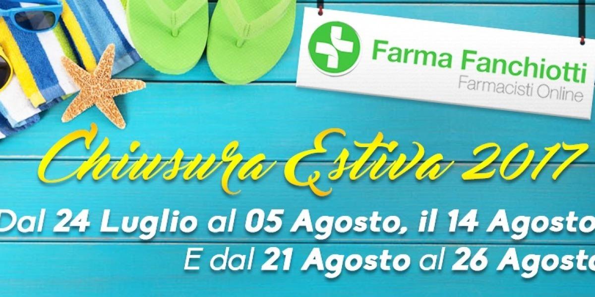 Chiusura Estiva Farmacia Fanchiotti - Farmacia Fanchiotti