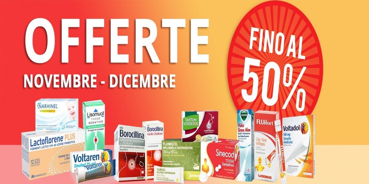 OFFERTISSIME di NOVEMBRE & DICEMBRE 2017! - Farmacia Fanchiotti