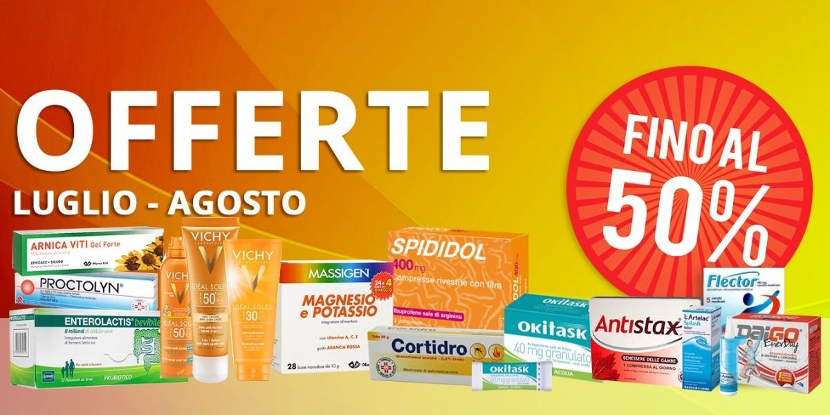 OFFERTISSIME di LUGLIO & AGOSTO 2017! - Farmacia Fanchiotti