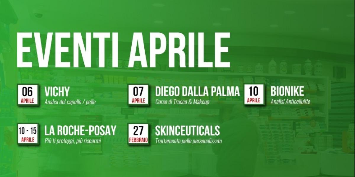 Eventi - Aprile 2017 - Farmacia Fanchiotti