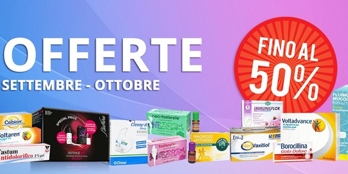 OFFERTISSIME di SETTEMBRE & OTTOBRE 2017! - Farmacia Fanchiotti